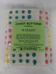 CANDY BUTTONS 15CT