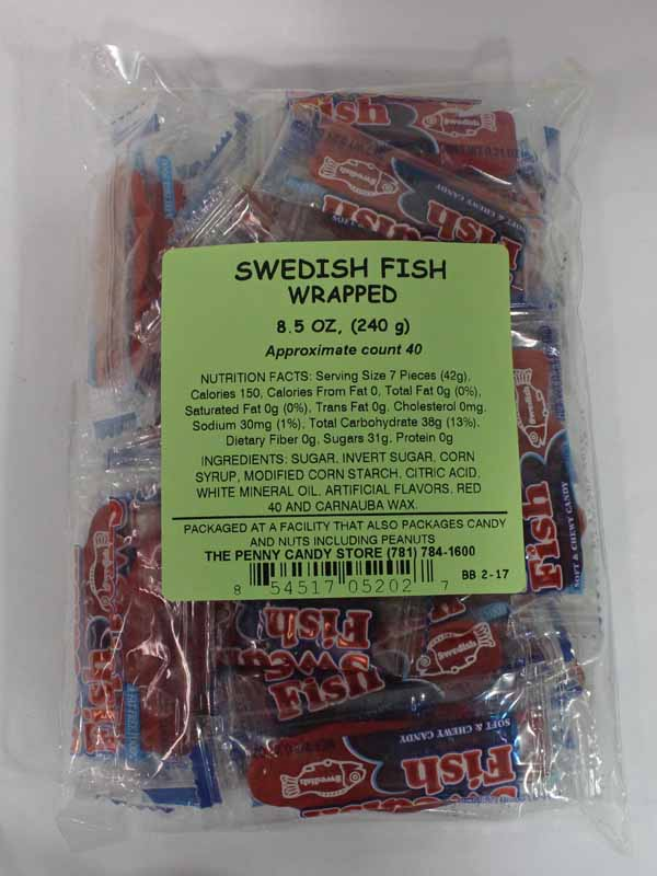 8 40ct swedish fish wholesale candy outlet for Swedish fish bulk
