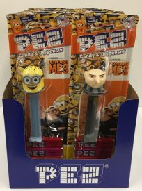 PEZ DISPICABLE ME BOX